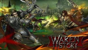 gry mmo waren story