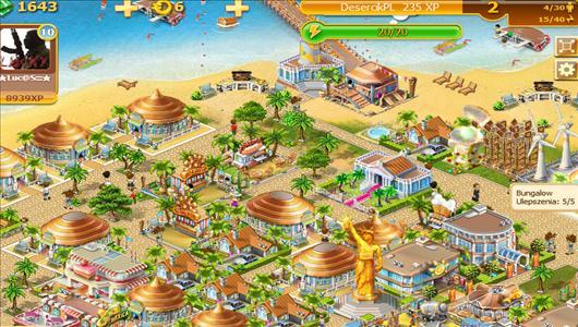 złote piaski miasto znajomych