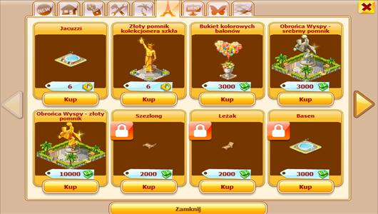 złote piaski sklep gry