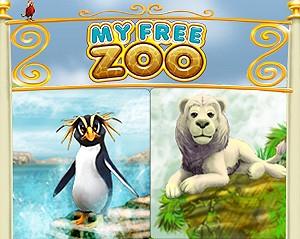 my free zoo biały lew