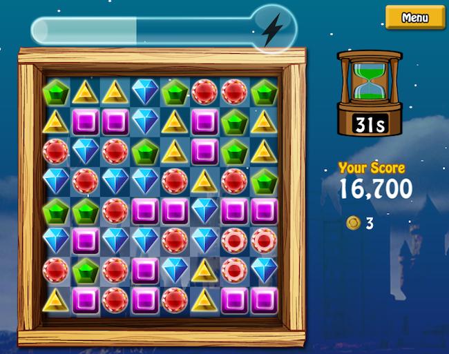 ekran gry