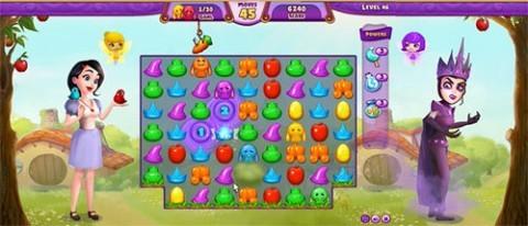 Fairy Tale Twist - fantastyczna gra match 3 na Facebooku