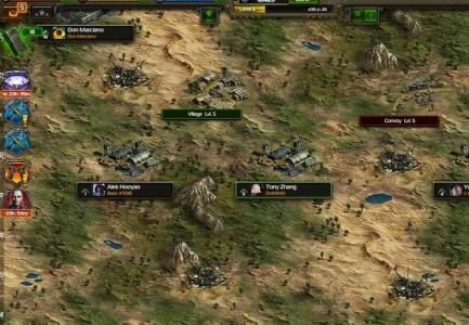 Na mapie gry znajdziesz sojuszników jak i miejsce, gdzie skrywają się wrogowie