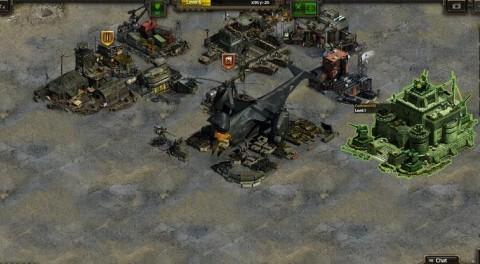 Twoja futurystyczna baza to budynki, wojska i hangary