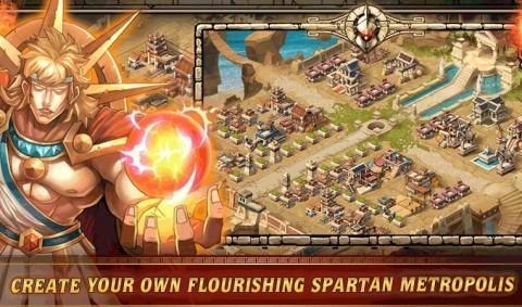 stwórz własną spartańską metropolię
