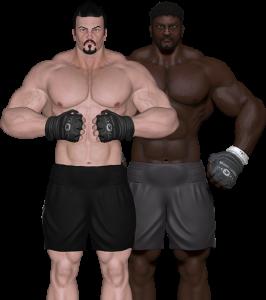 3d_fight_model_boxers