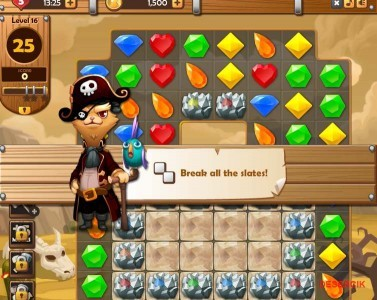 Jewel Pirates Game