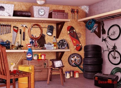 sprzątamy garaż