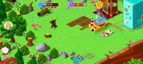 widok farmy w candy woods