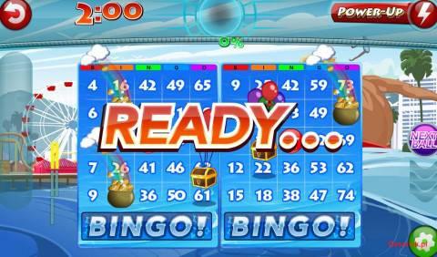 Bingo Rush 2 plansza gry