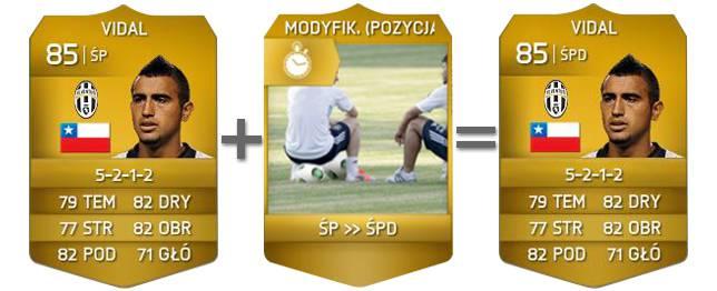 Modyfikatory kart Fifa