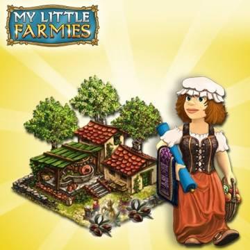 Olejarnia i drzewa oliwne w My Little Farmies