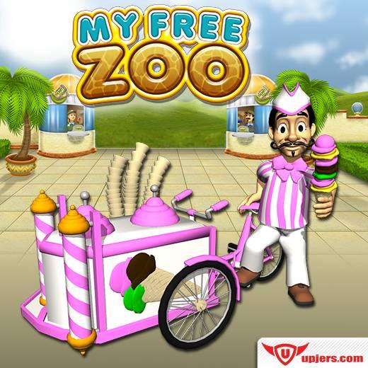 Sprzedawca lodów zawitał do My Free Zoo